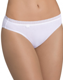 Brief Sloggi EverNew Lace White (BLANC)