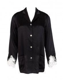 Pyjama jacket Lise Charmel Splendeur Soie (Splendeur Noir)