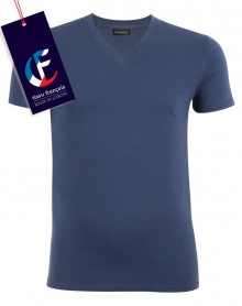 V-Neck T-shirt chic Eminence