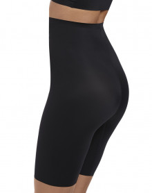 Long leg body shaper Wacoal Beyond naked firm (Black)