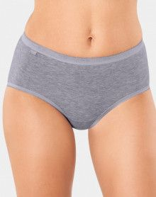 Midi briefs Basic + (Pack of 4) grey