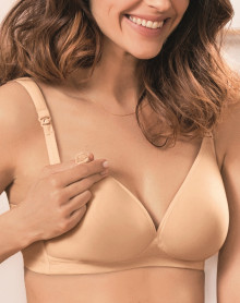 Non-wired nursing bra Anita Maternity (Desert)