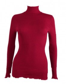 Oscalito Funnel Collar Sweater 3429 (rouge)