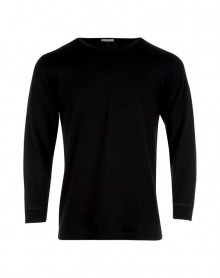 T shirt Col Rond Manches Longues Eminence (Black)
