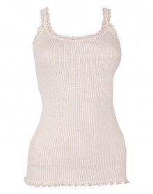 tank top lace wool & silk Moretta 5760