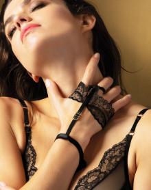 Bracelet Lise Charmel Nouvel Eros (Noir Or)