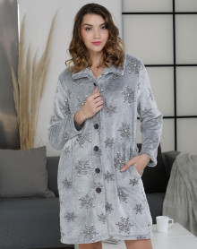 Carbon bathrobe Massana