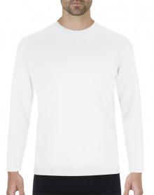 Eminence Natural Warmth T-shirt round neck long sleeves (White)