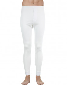 Eminence Natural Soft Warmth long pants (White)