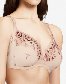 Underwired bra Chantelle Every Curve (Beige)