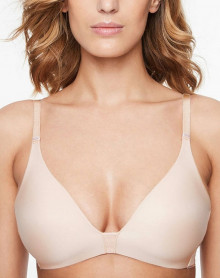 Wireless bra Chantelle Absolute Invisble (Beige Doré)