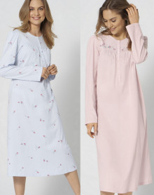 Nightdress 100% cotton Triumph (Turtle Dove) (Pack of 2)