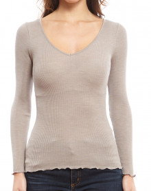 Oscalito V collar Undershirt 3486 (corde)