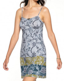 Babydoll with thin straps Antigel Forêt Magique