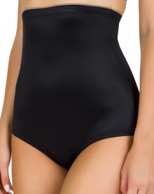 High waisted shapewear panty Conturelle Soft Touch (Black)