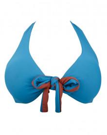 Triangle bath bra Antigel L'Ethnica (Bleu Canard)