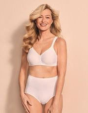 The collection Modern Soft+Cotton of the brand of lingerie Triumph is a new very functional range.